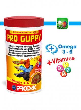 Prodac Pro Guppy Alimento per Pesci Guppy d'acquario