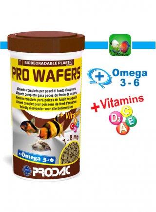 Prodac Pro Wafers Alimento per pesci in pastiglie