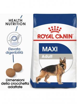 Royal Canin Maxi Adult kg 15kg+3 omaggio