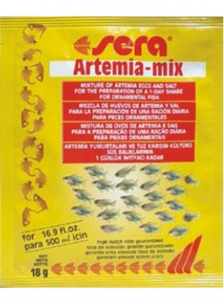 Sera uova artemia mix gr 425