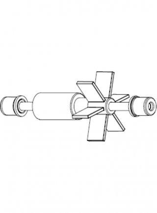 Sicce Ricambio SPACE EKO+ 200 Rotore con alberino in acciaio + gommini