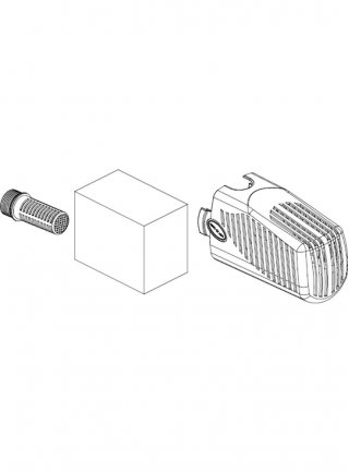Sicce Ricambio SYNCRAPOND 0.5-1.0 Kit Filtro (corpo filtro, raccordo interno, spugna)