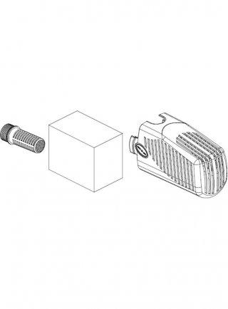 Sicce Ricambio SYNCRAPOND 1.5 Kit Filtro (corpo filtro, raccordo interno, spugna)