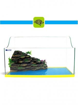 Prodac Tartarughiera in vetro con Isola Filtro