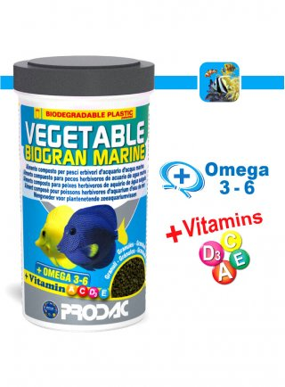 Prodac Vetable Biogran Marine Mangime per Pesci 250 ml