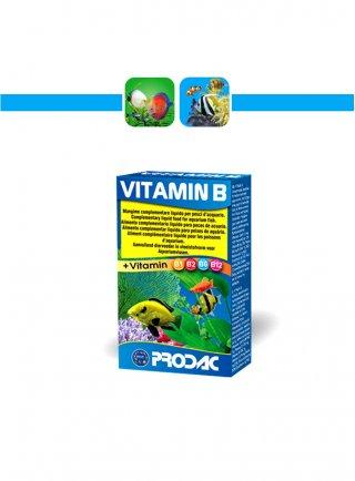 Prodac Vitamin B Mangime per pesci in gocce gr 30