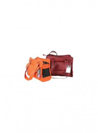 Borsa trasportino notting hill arancio e bordeaux