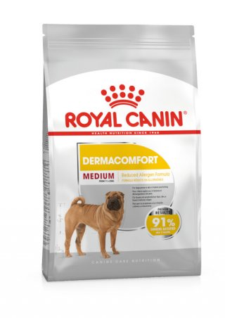 Medium Dermacomfort cane Royal Canin