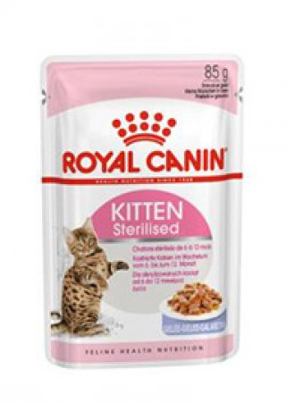 Sterilised Kitten umido Royal Canin 12x85 gr
