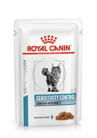 Sensitivity Control buste umido gatto Royal Canin 12x85gr