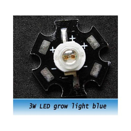 Chip led 3w colore Blu