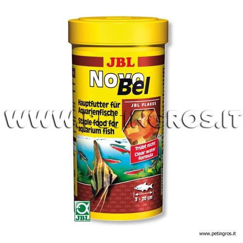 Novobel alimento di base per pesci in scaglie jbl for Mangime tartarughe acqua