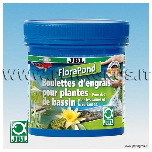 Florapond fertilizzante per piante da laghetto in sfere jbl for Piante laghetto