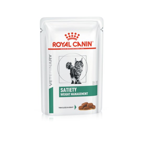 Satiety Weight Management buste umido gatto Royal Canin 12x85 gr