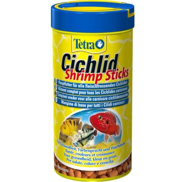 Tetra cichlid shrimps ml 250 tetra for Tetra cichlid sticks