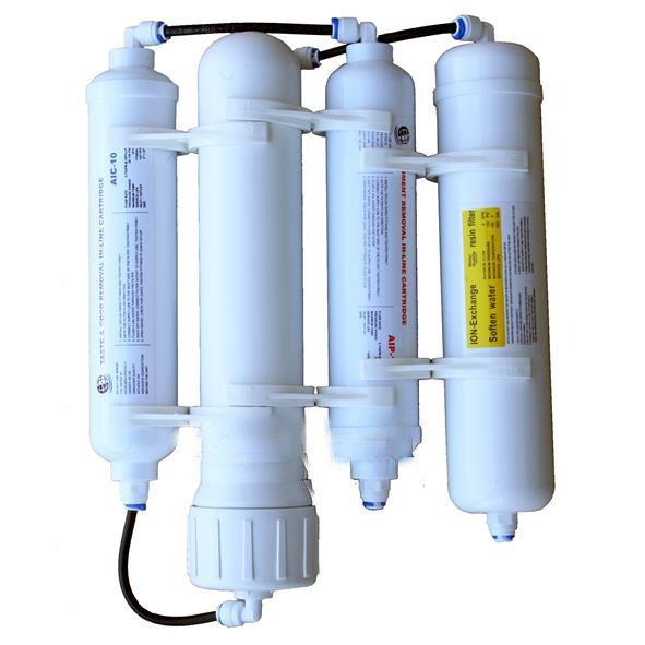Impianto osmosi inversa a 4 elementi hqa Trecode.it