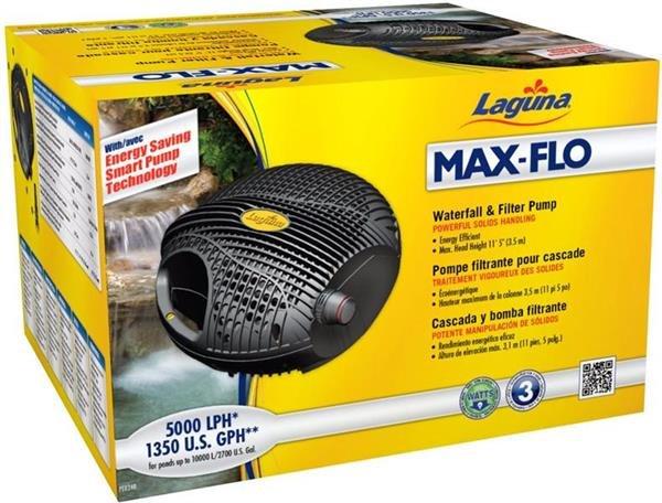 Pompa laghetto max flo per fontane e cascate askoll for Filtri da laghetto