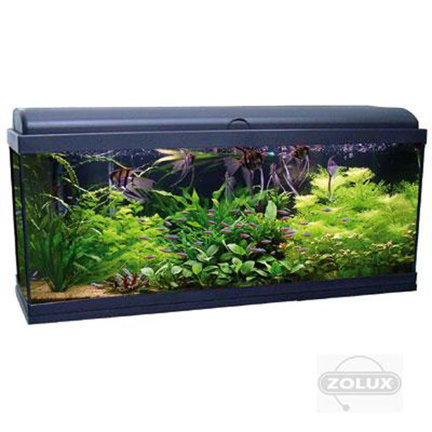 Acquario aquadream 100 led nero aquatlantis zolux for Acquari design vendita