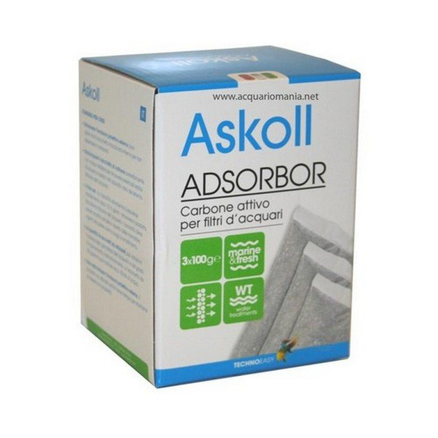Askoll carbone adsorbor per acquario vendita online askoll for Acquario tartarughe vendita online