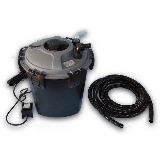 Filtro a pressione per laghetti da esterno petingros for Filtri da laghetto