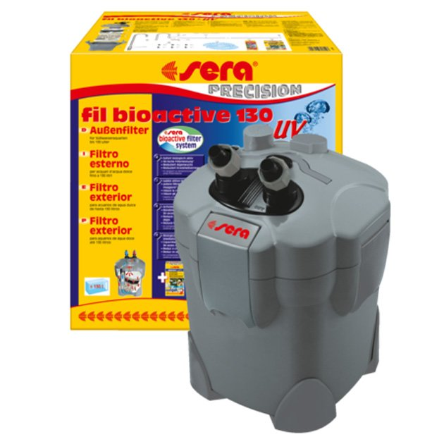 Filtro bioactive uvc 130 250 400 per acquario sera for Filtro per acquario tartarughe