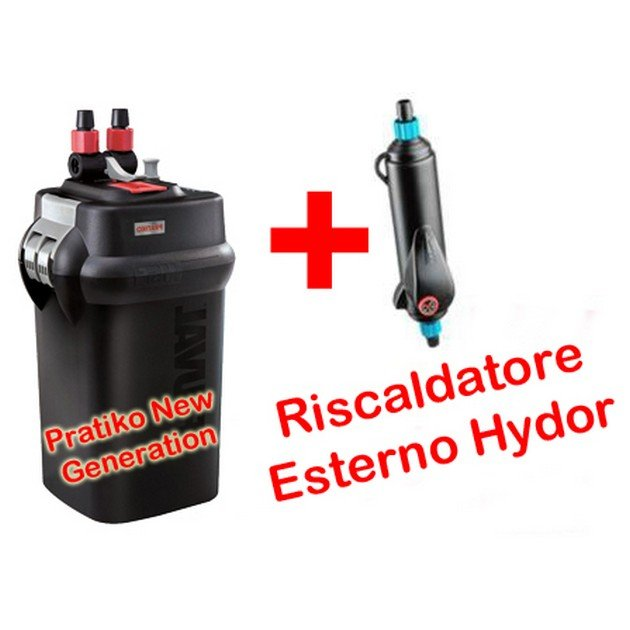 Filtro esterno pratiko 300 eth 300 omaggio askoll for Filtro x acquario