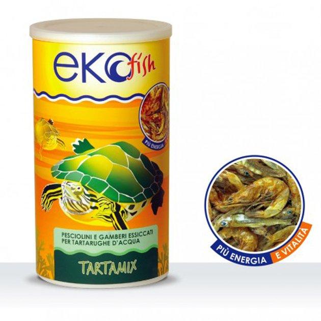 Ekofish mangime per tartarughe acquatiche tartamix 1000 ml for Mangime tartarughe acqua