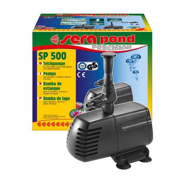 Pompa filtro per laghetto sera sp 500 1500 2000 sera for Pompa e filtro laghetto