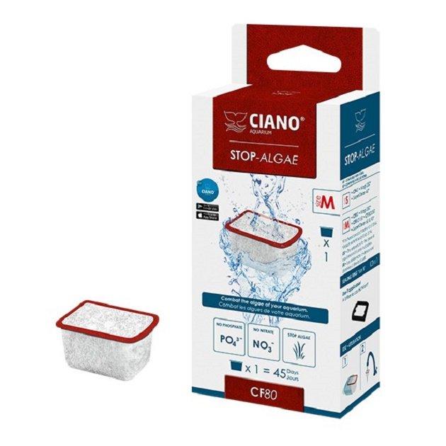 Ciano stop algae m antialghe per acquario askoll for Antialghe per acquario
