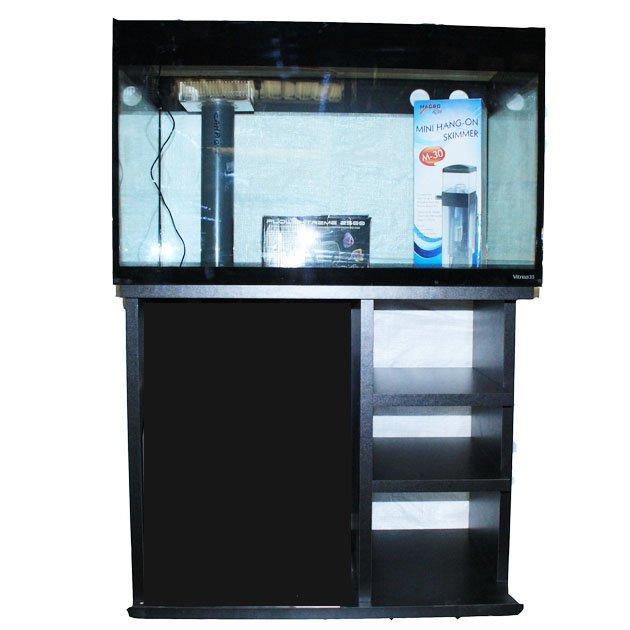 Acquario marino usato vitrea pro 80x50x51hcm con supporto for Acquario per tartarughe usato