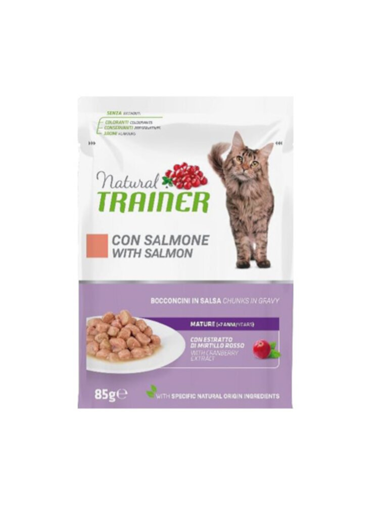 Trainer Natural Cat Mature Salmone buste 12 x 85g
