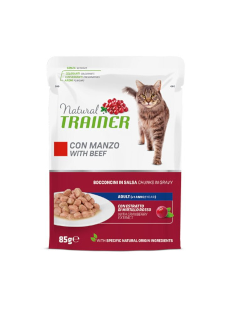 Trainer Natural Cat Adult buste 12 x 85g