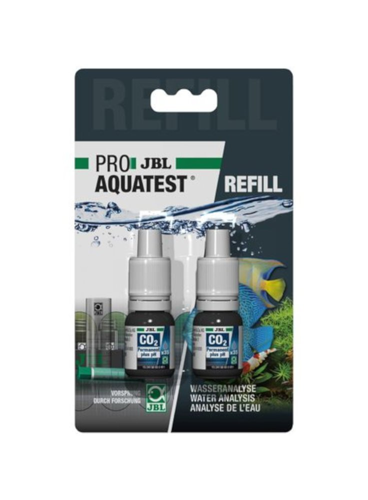 JBL REFIL ricarica test del CO2/PH in acquario