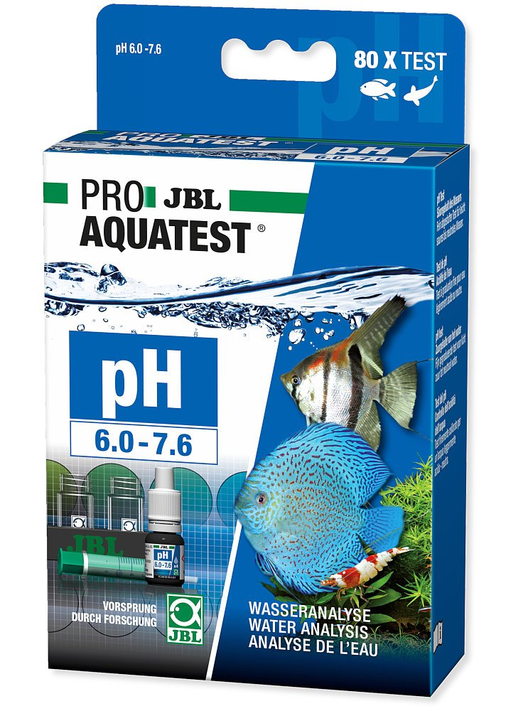 JBL Proaqua test PH 6,0-7,6