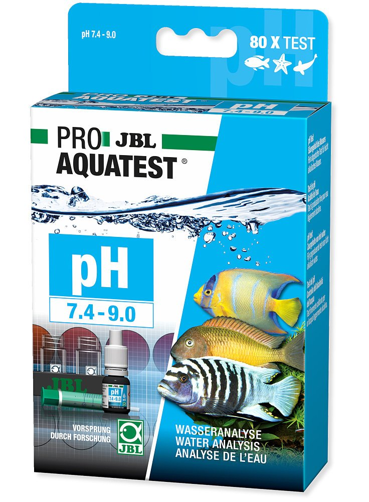JBL Proaqua test PH 7,4-9,0