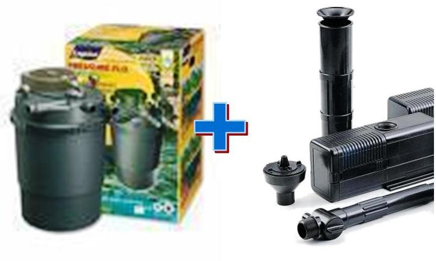 Filtro laghetto sterilizzatore pf 5000 pompa askoll for Pompa filtro laghetto